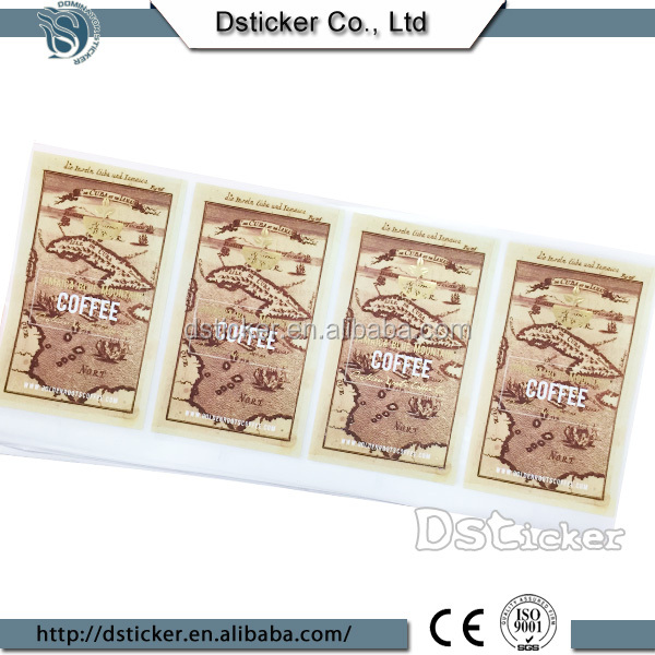 Customize Design Metallized Paper For Beer Label
