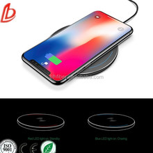 Drop shipping cell phone Qi wireless charger,fast wireless charging pad