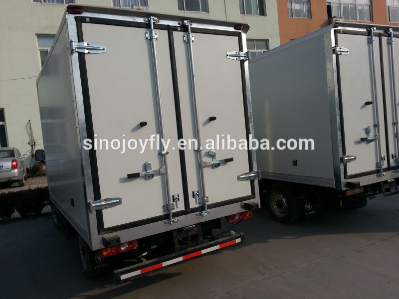 dongfeng mini van/right hand drive van/small delivery van medical waste transport truck