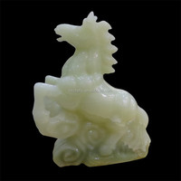 crystal carved horses/handing stone sculpture horse small decorative items