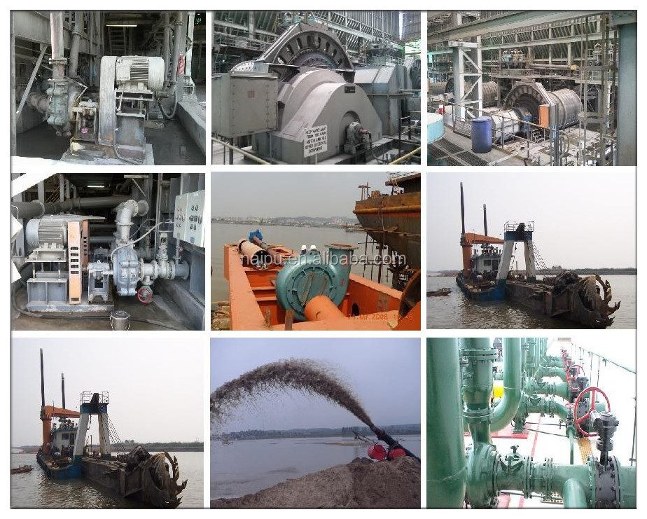 OEM Factory Supply Sand Dredge Machinery100-300ZJS-T Heavy-duty Sand Dredge Pump for Sale