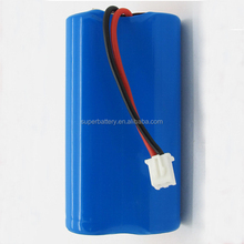 high quality 2S1P rechargeable 18650 Li-ion battery 7.4v 2500mah