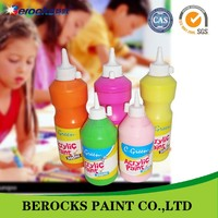 environmentally friendly acrylic emulsion paint for children made in china