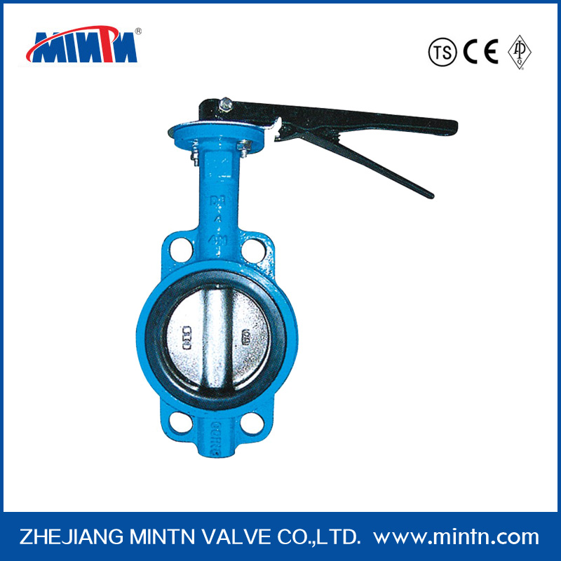 Manufacturer stainless steel manual Water Butterfly Valves 304/316 with high platform
