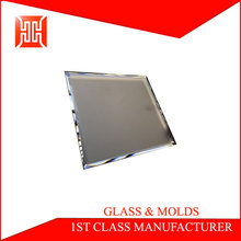 100% inspection beveled edge glass switch panel