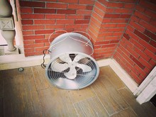2016 Greenhouse stainless steel and galvanized sheet basement exhaust fan