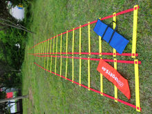 Various size adjustable Soccer Training Agility ladder