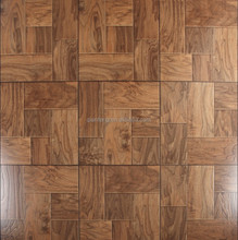 Soothing color Waterproof EIR parquet laminate flooring 12mm AC3/4