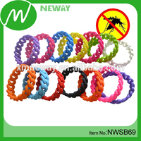 Fashion Braided Bracelet for off Mosquito Repellent