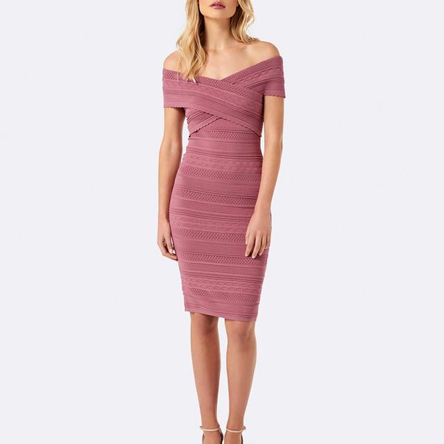 Pink girls lace bandage sexy dress for women wearing plush size party dress