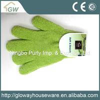 Chinese products wholesale nylon bath gloves nylon gloves