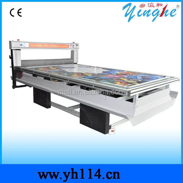 Electric Flatbed Large Format Hot and Cold Laminator Machine with CE certification (YH1325-B4)