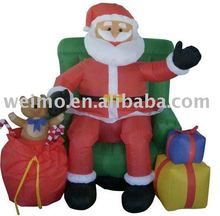 Christmas Inflatable Santa Claus