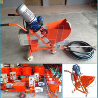 Can customized color as needs most favorabled spraying cement putty machine