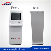 Read RFID cards and IC card Payment kiosk ticket dispenser food ticket vending machine kiosk
