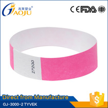 Free sample available great tyvek wristbands id bands supplier