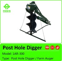 High quality tractor post hole digger / soil hole digger