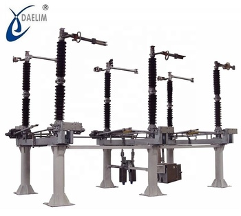 Customized 132kv 1000a  outdoor GW4-132kv disconnect switch