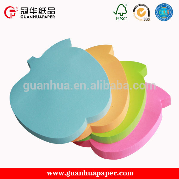 Fashion Customized Promotion Sticky Note,Die Cut Sticky Note Pad,Sticky Memo Pad