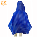 polyester fabric cute children raincoat