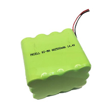 Long cycle life 12V 14.4V nimh rechargeable battery pack aa 2500mah, 14.4v ni-mh battery pack for vacuum cleaner