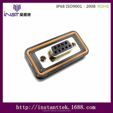 INST 9 pin d sub mini connector