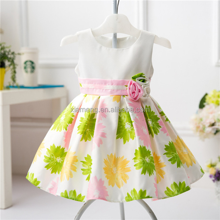 top-class comfortable baby girls party wear dress patterns