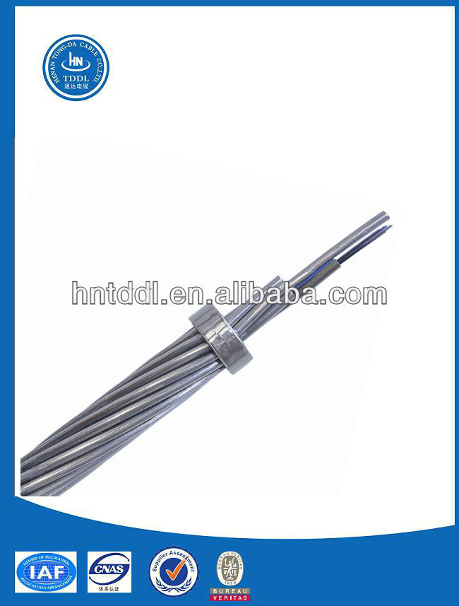 OPGW--Optical Fiber Composite Overhead Ground Wire.
