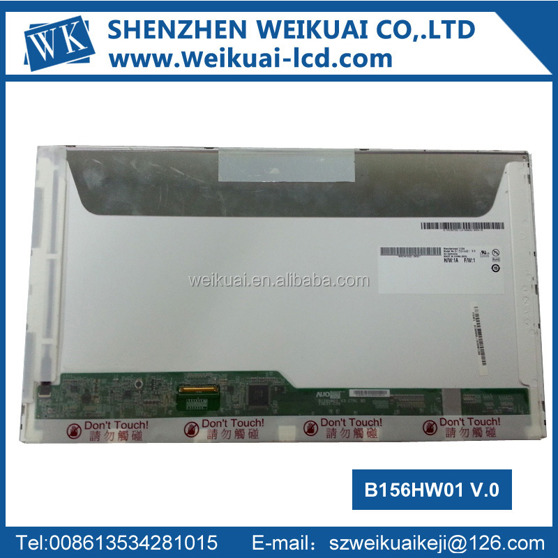 15.6 inch 1920x1080 laptop LED screen B156HW01 V.0 for AU Optronics