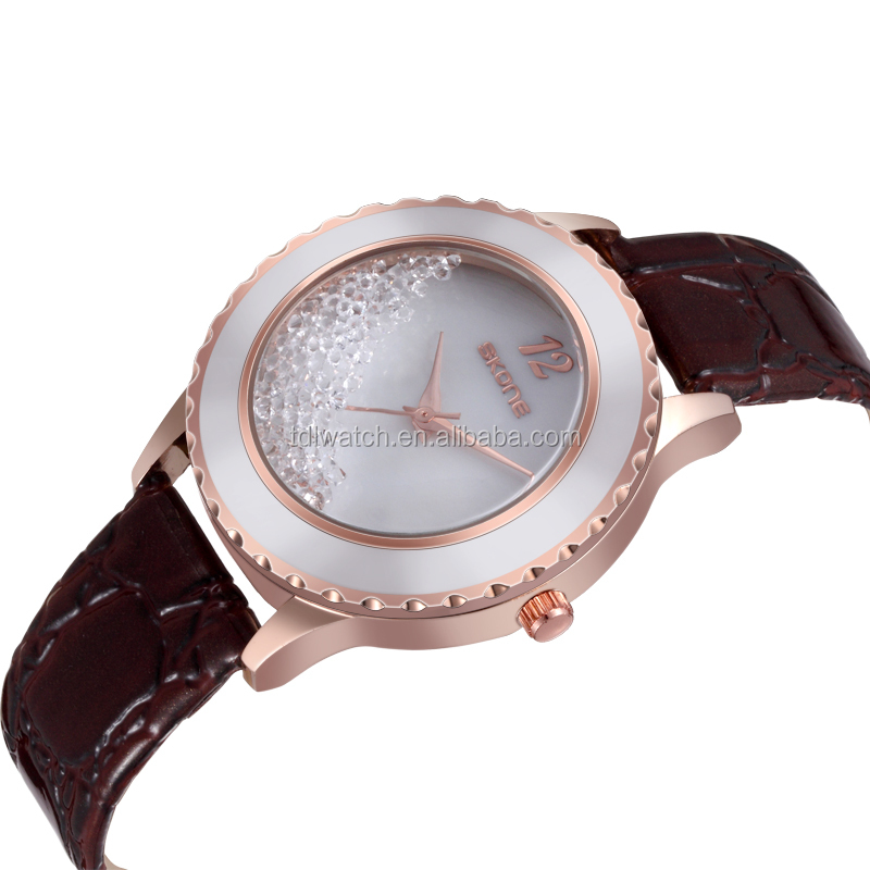 SKONE 9324 color crystal sales promotion watch