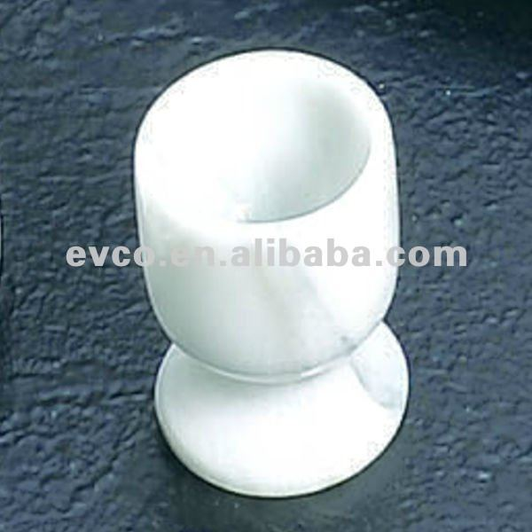 Genuine White Marble Egg Cup