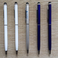Quality office and business gift metal touch screen stylus pen slim