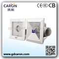 Shunde factory direct sale graceful square ceiling exhaust fan/ventilation fan/ventilating fan with duct or without duct
