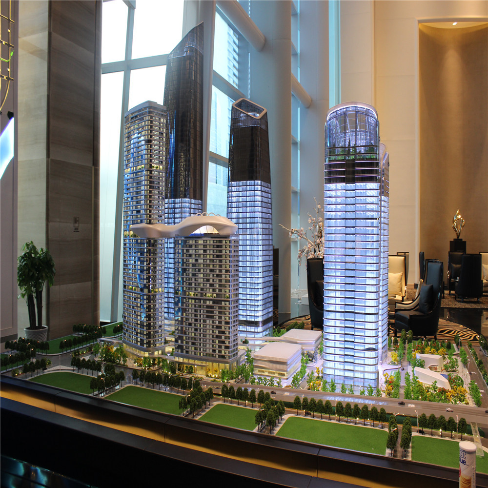 Dubai high rise building model making in other construction &real estate for exhibition
