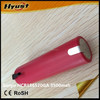 Hot 3500mah 10A 18650 high capacity batteries Sanyo NCR18650GA 3.7V 18650 li ion battery cell - Free shipping