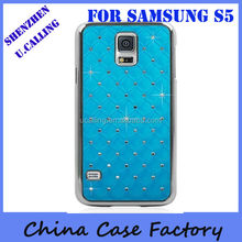 Hot Selling 2 in 1 Plastic And Silicon Case For Samsung S5 i9600
