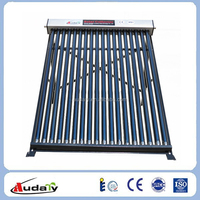 Heat Pipe Solar Collector for Home Use and Swimming Pool Heating