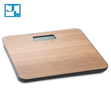 Lightweight Domestic Digital Adult Bathroom Weigh Scale Bamboo