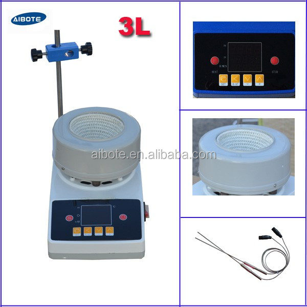 3000ml stirring heating mantle chemical manufacturer