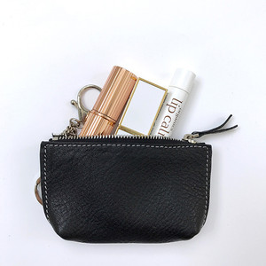 High Quality Genuine Leather Multifunction Mini Purse Lipstick Purse