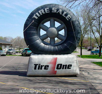 giant Inflatable Tire Balloon Advertising for promotion