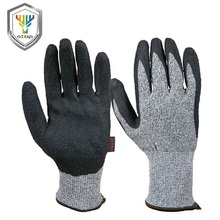 Cut resistant working hand protective butcher gloves