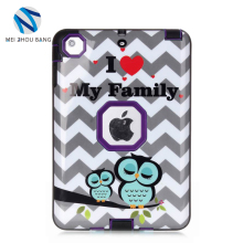 TPU back cover case for ipad mini case,lovely cartoon tablet case for ipad mini 1 2 3