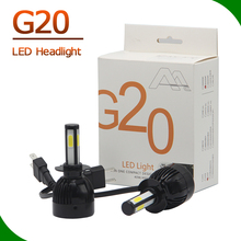 Factory directly g20 led headlight bulbs for cars and motorcycles 40W 6000K 12v 24v h4 led headlight on sale,auto parts