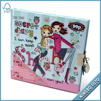 High Standard Production Cute Lock Diary, Diary with Lock