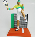 Polyresin Tennis Player Nadal Action Figurines Statue