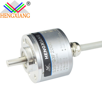 Optical dustproof encoder 6mm shaft square wave encoder 5000 rpm
