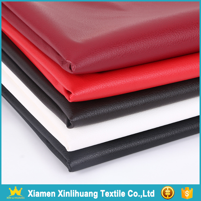 Textile Factory Wholesale Faux Leather Fabric for Clothing/Sofa/Bags
