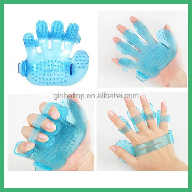 Sky Soft Plastic Massage Glove Cat Dogs Massager anti Fat Body Arm Weight Brush