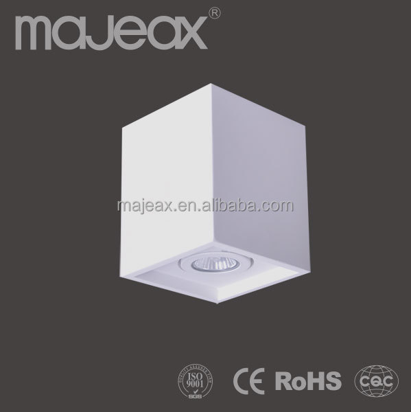 Plaster LED GU10 Commercial Ceiling Lighting Fixture